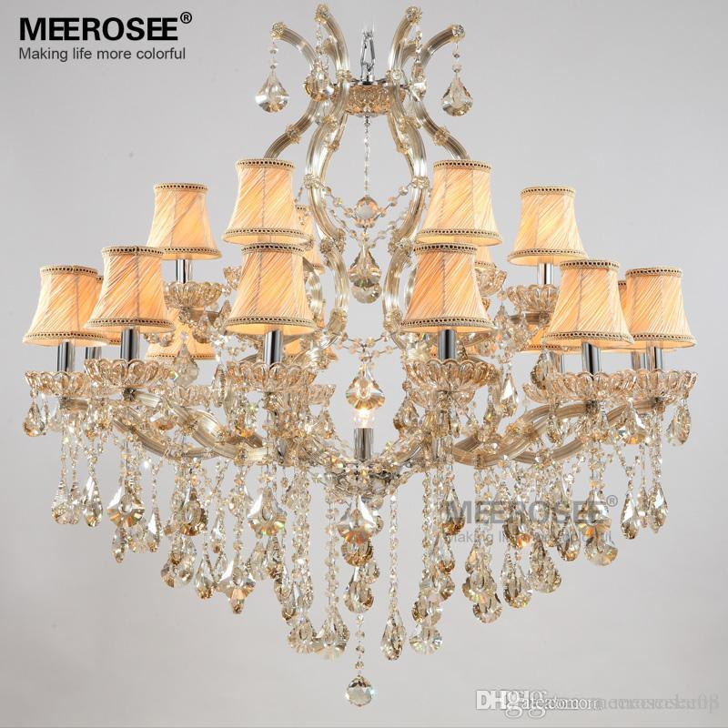 Lights & Lighting Project Large Crystal Chandelier Led Lamparas Sconce Stairway Suspension Lamp Gold Hotel Chandelier E14 Led Lustre Light Fixture Chandeliers