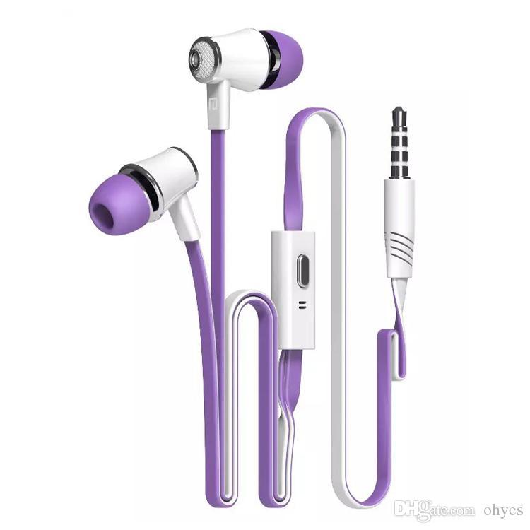 Langstom JM21 Express Écouteurs à annulation de bruit dans l'oreille pour Iphone Portable Secure Fit pour la course