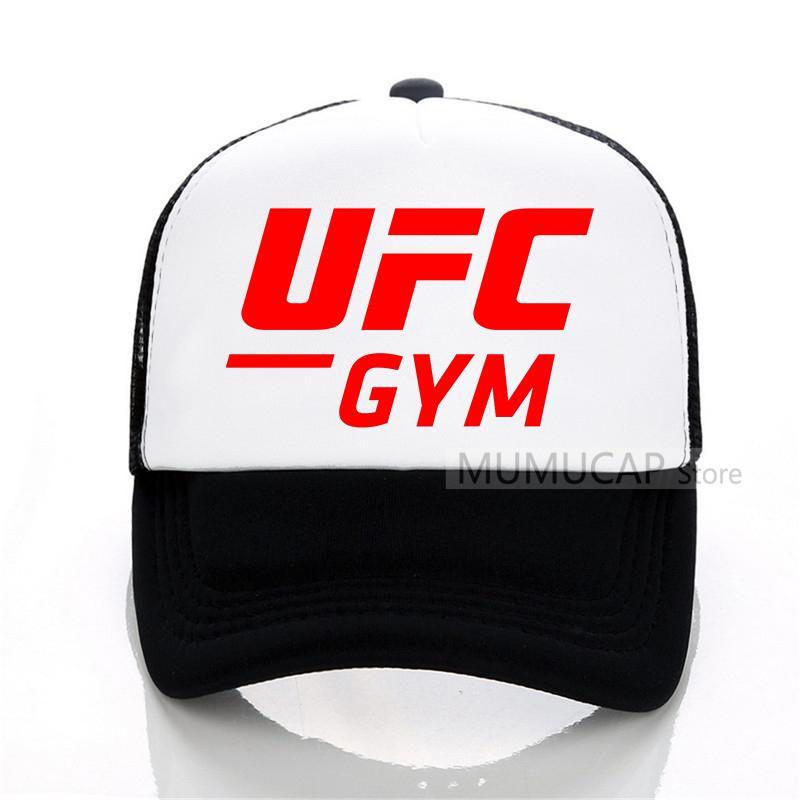1d6f207cbf6 Summer Sports Russian UFC Baseball Cap Fashion Men Women Mesh Trucker Cap  Letter Bones Snapback Hats Superman Cap Hat Embroidery From Shanqingmou