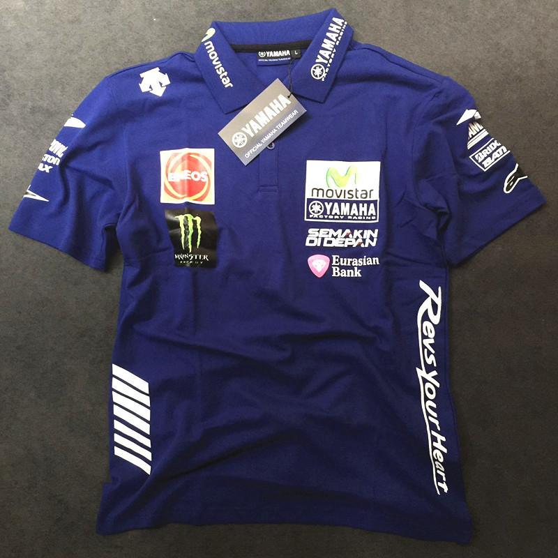 Grosshandel Motogp Motogp Valentino Rossi Vr46 Movistar Polo Hemd Der