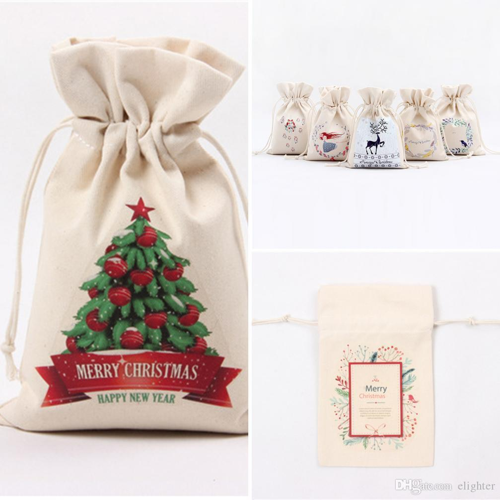 Portable Storage Bag For Gifts Merry Christmas