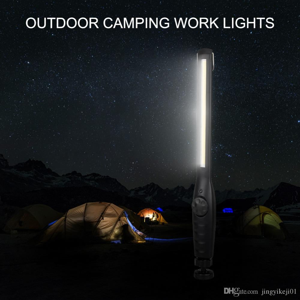 Outdoor Work Flashlight lights USB Rechargeable Magnetic Inspection Torch Lantern Hook Hanging Lamp For Car Repairing Camping