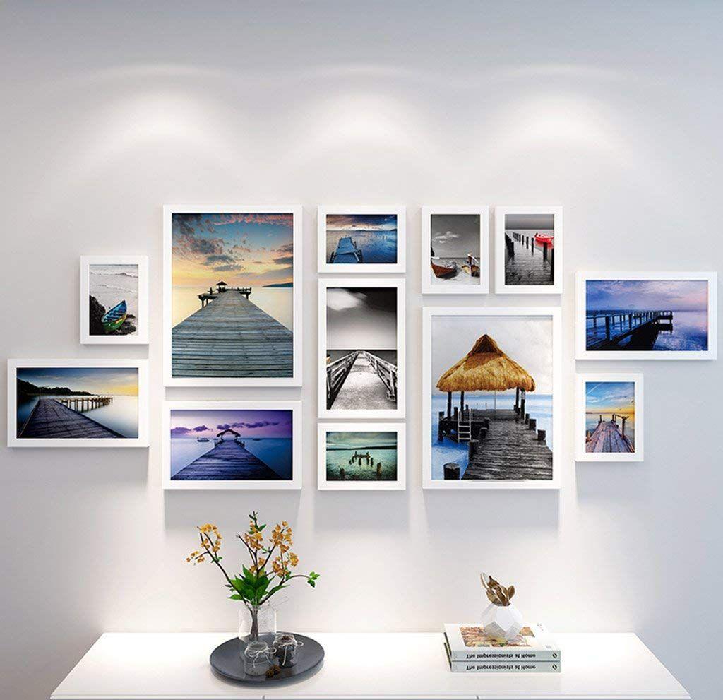 Großhandel 12 Bilderrahmen Wand Galerie Kit Beinhaltet: Wand Artwork ...