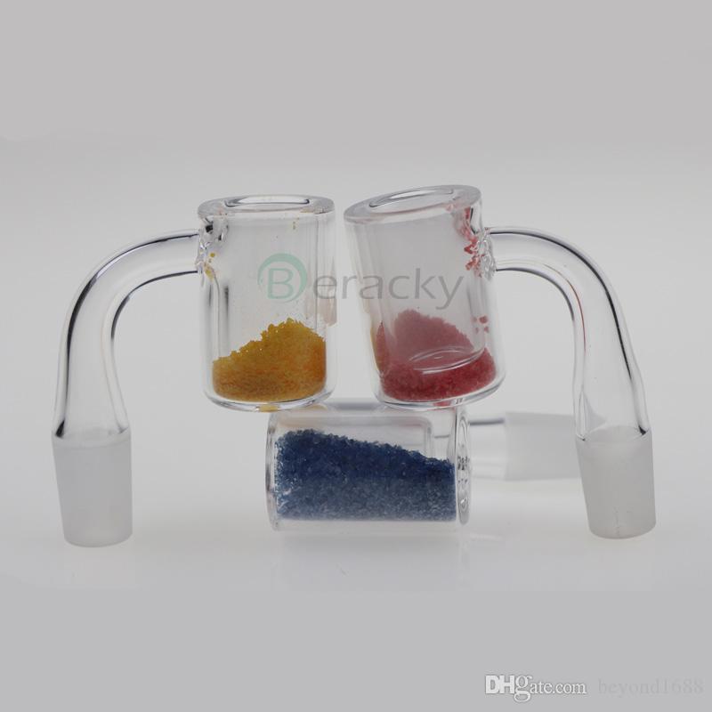 DHL Доставка !!! Новый кварцевый термохромный ведро Banger 10 мм 14 мм 18 мм мужской женский цвет изменение кварцевых банковских гвоздей для стеклянных водных бонгов
