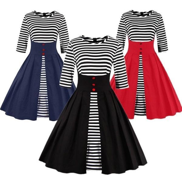 Cute Plus Size Rockabilly Dresses