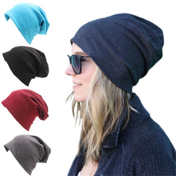548d6826d3d41d 2019 Unisex Knitted Cotton Hats Winter Warm Ski Crochet Hat Slouch Punk Women  Men Cotton Skullies Blends Beanie Caps LE166 From Amy360, $1.87 | DHgate.Com