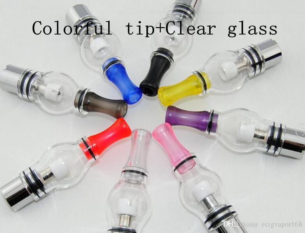 Glass globe Atomizer pyrex glass Wax Dry Herb Vaporizer pen vape ecigarettes electronic cigarettes glass tanks for ecigs ego 510 batteries