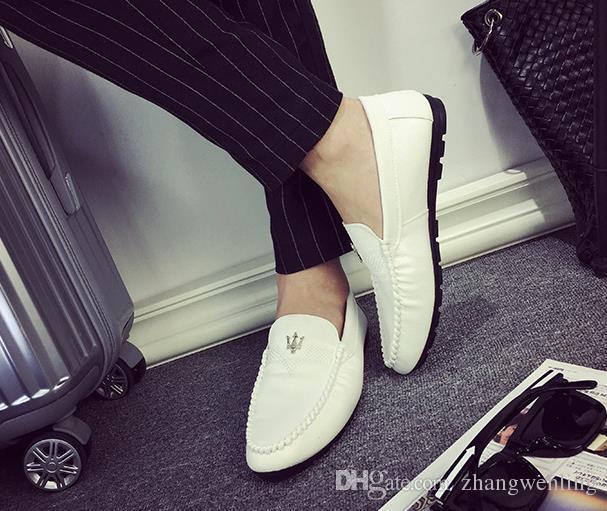 Erkekler için Erkekler ayakkabı Deri Erkekler Elbise Ayakkabı Sivri Burun Bullock Oxfords Ayakkabı, Dantel Yukarı Tasarımcı Lüks