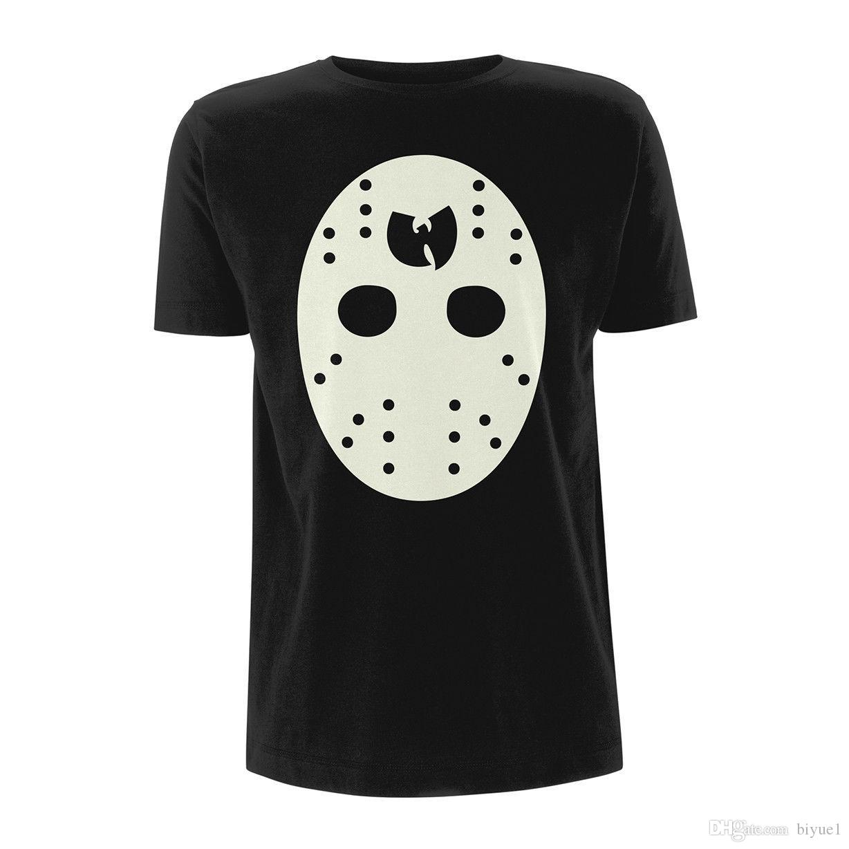 8a829032 Wu Tang Clan Hockey Mask The Saga Continues Ufficiale Uomo Maglietta Unisex  Round Neck Movement Cotton Online with $16.29/Piece on Biyue1's Store |  DHgate. ...