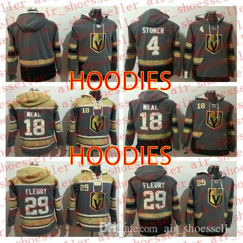 847985a87e9 Vegas Golden Knights MEN Hoodie Pullover Marc-Andre Fleury James ...