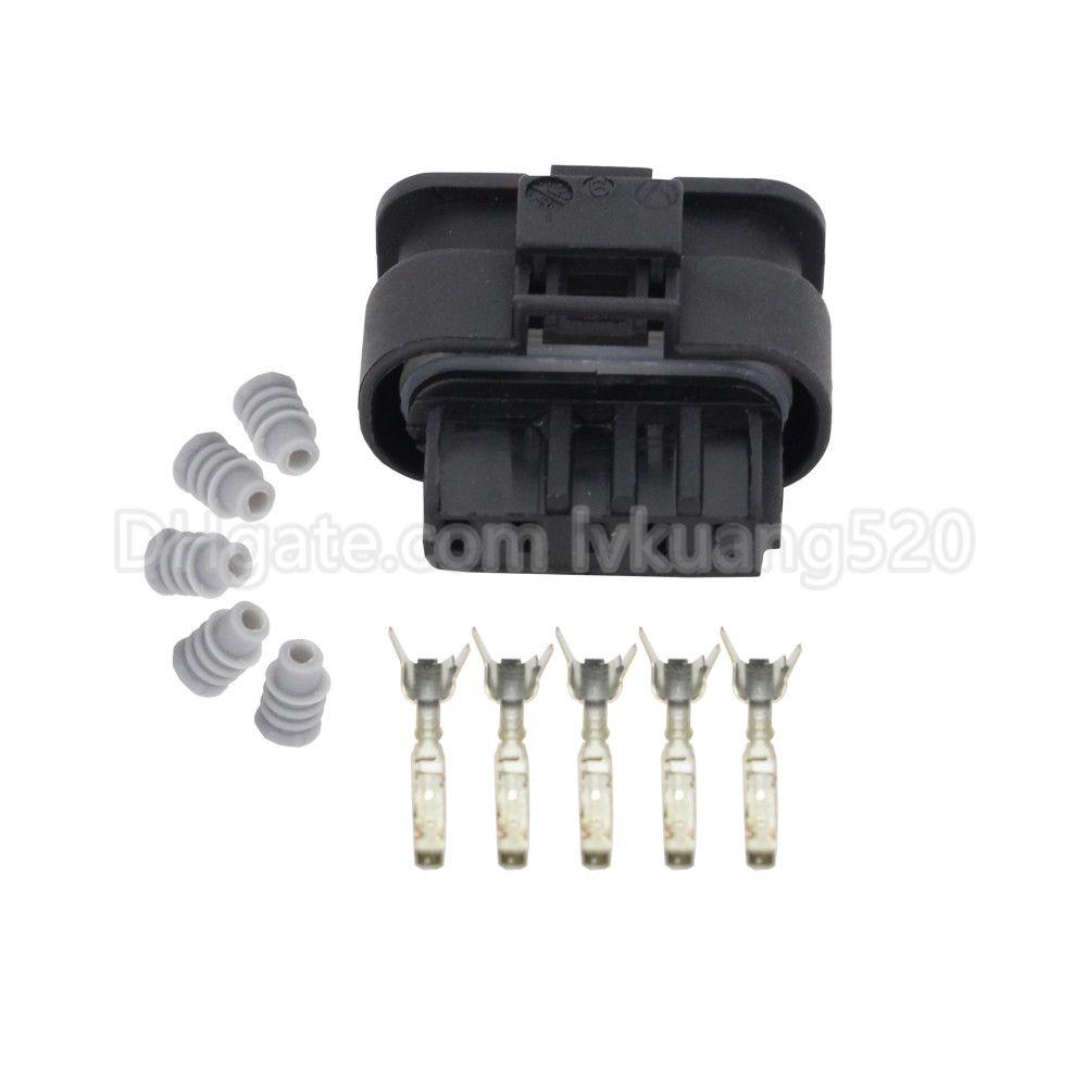 5 Pin DJ7056-1.2-21 Waterproof Female HIRSCHMANN Automotive Connector Car Connector Housing Plug 872-860-541 872-860-546