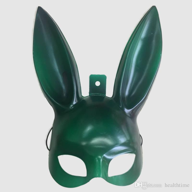 New Fashion 2018 Bar KTV masquerade mask the rabbit ears Bunny mask The Easter bunny mask