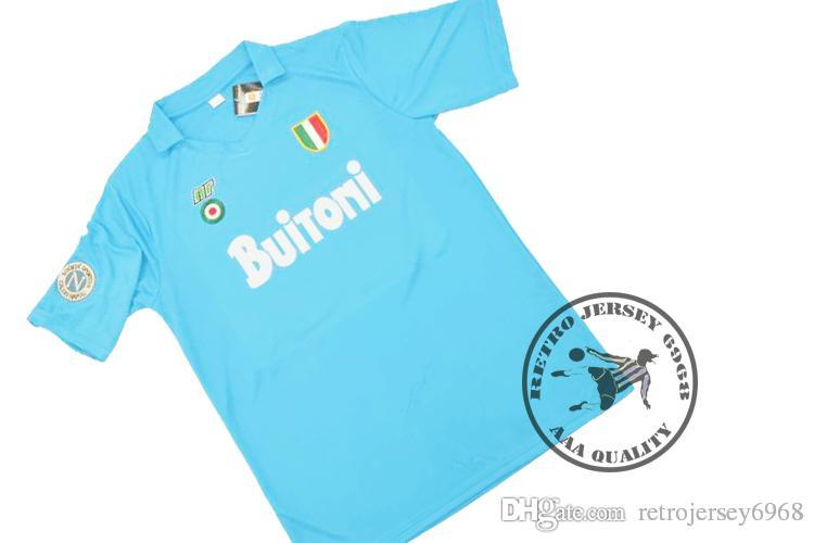 Maradona Old Jersey Napoli Shirts Soccer Jersey Classical Shirts Maradona Jersey  Napoli Jersey Retro Jersey Online with  35.51 Piece on Retrojersey6968 s ... c6b01348a