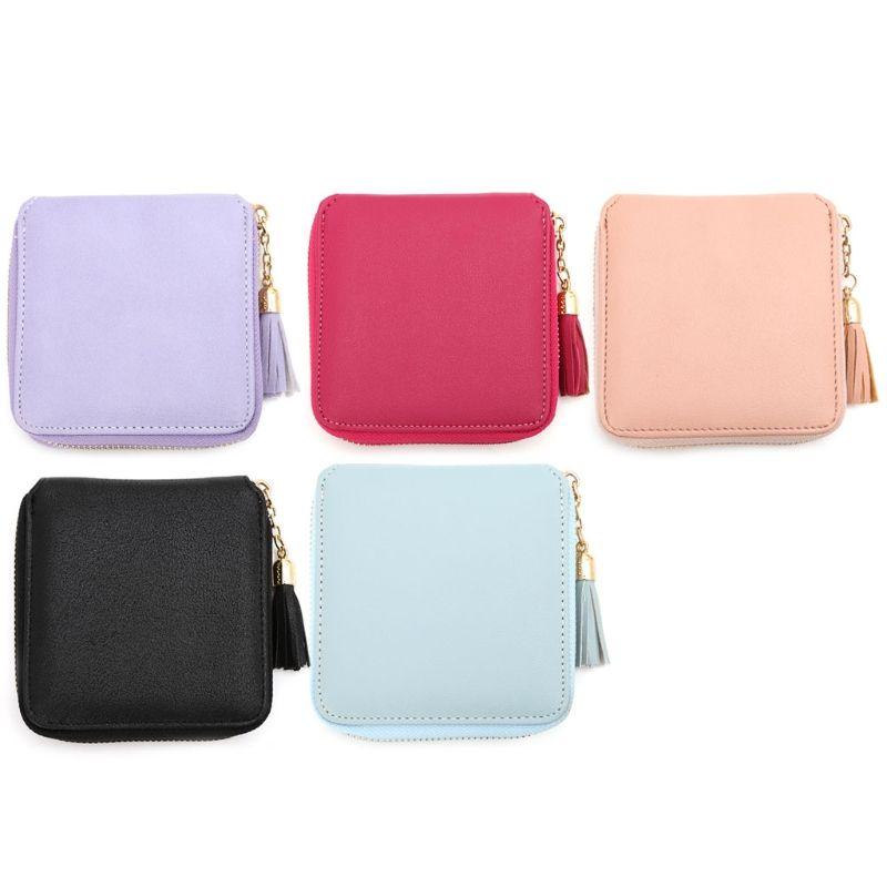 b6d418ffb943a Fashion Women Lady Leather Card Holder Coin Bags Wallet Purse Mini ...