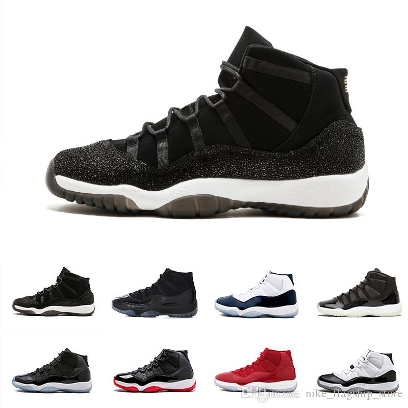 4b7deb2a8d5 11 Prom Night 11s XI Gym Red Chicago Midnight Navy Bred Concord UNC Space  Jam PRM Heiress Mens Womens Basketball Shoes Shoes Canada Carmelo Anthony  Shoes ...