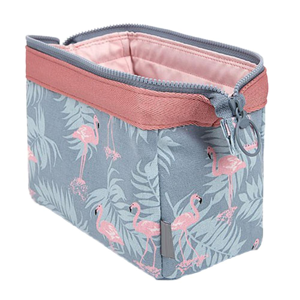 31acd7cb18c0 Fashion Flamingo Flower Print Makeup Brushes Holder Bag Pouch Portable Gift Cheap  Cosmetics Online Cheap Makeup Bags From Guaye