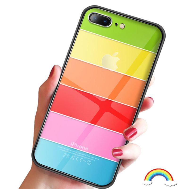 iphone xs case rainbow