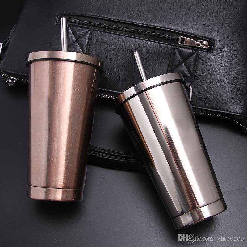 Pet 400ml Portable Filter Travel Cups Drinking Bowls Dog: Car Coffee Thermos Mug Creative Vacuum Flasks Home Kitchen