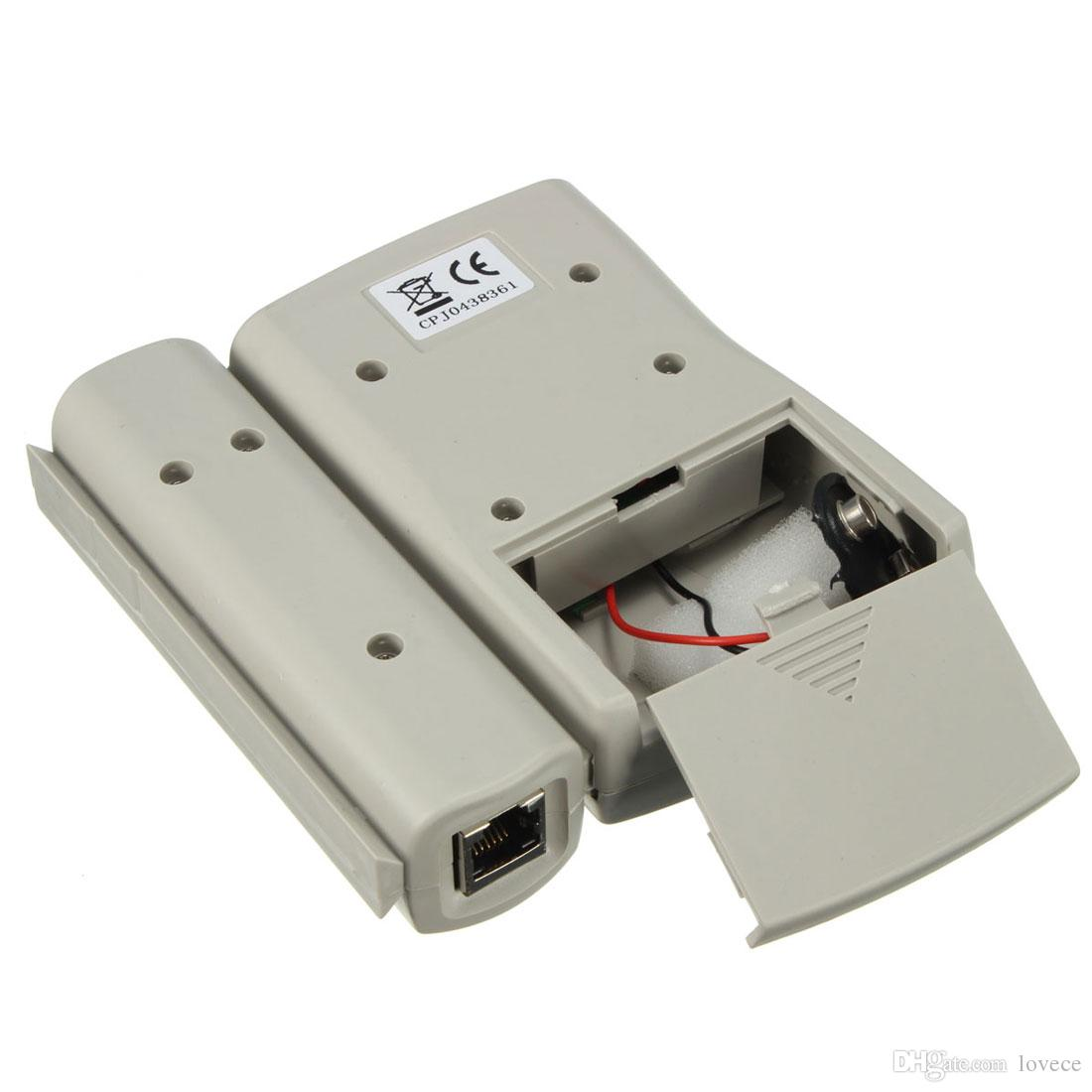 RJ45 RJ11 RJ12 CAT5 LAN Network Tool Kit كبل اختبار تجعيد المكشكش ذو طيات NET_005