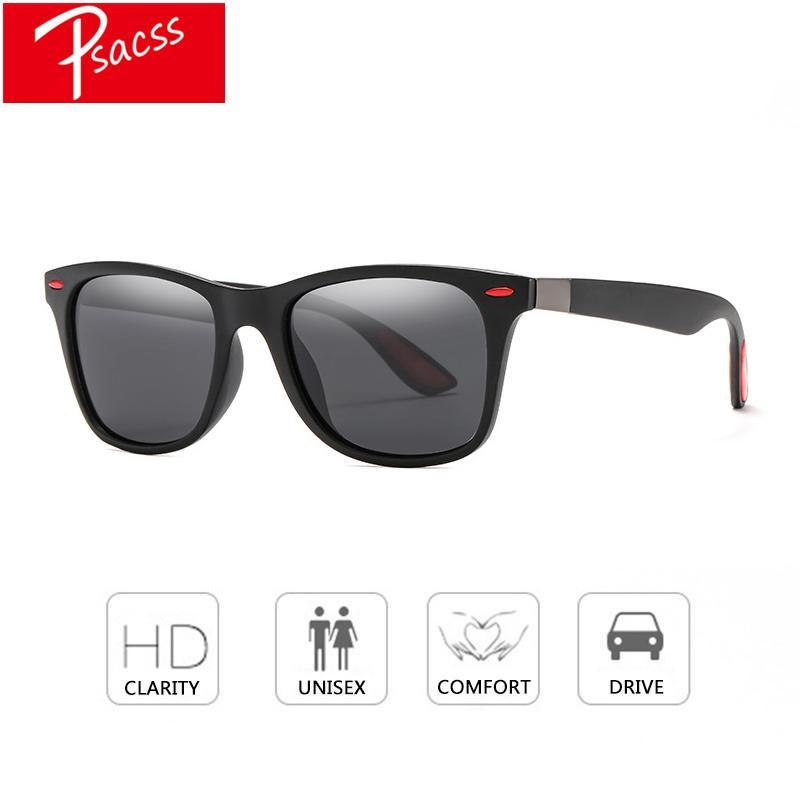348c0ff0f5 Compre Psacss 2018 Polaroid Gafas De Sol Clásicas Hombres Gafas De  Conducción Cuadrada Sunglass Hombre Marca Diseño De Alta Calidad Gafas De  Espejo Gafas A ...