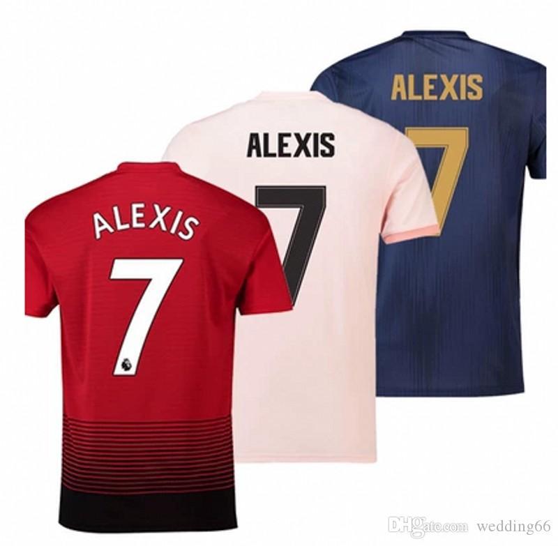 9858ae425 ... canada 2018 18 19 manchester united utd pogba lukaku alexis soccer  jersey man jersey lingard rashford