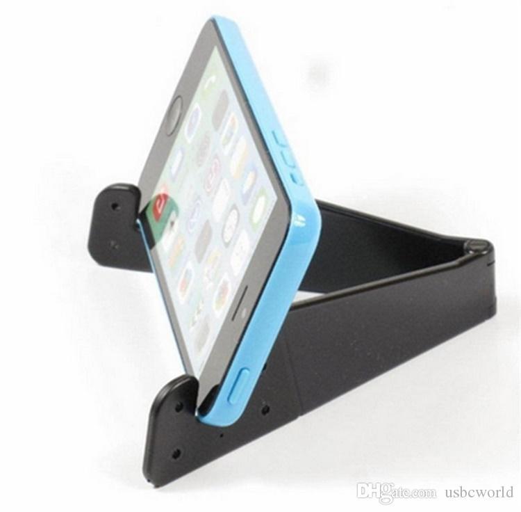 Supporto mobile pieghevole universale a forma di V del supporto del telefono cellulare il supporto regolabile del telefono di sostegno di Samsung della compressa di Smartphone