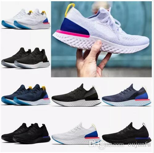2018 NEW summer Epic React Women Running Shoes Sneakers knit Fly line Sport Boost AQ0067 AQ0070 Man breathable Sneakers (Free shipping) free shipping outlet locations free shipping how much s7ZDa