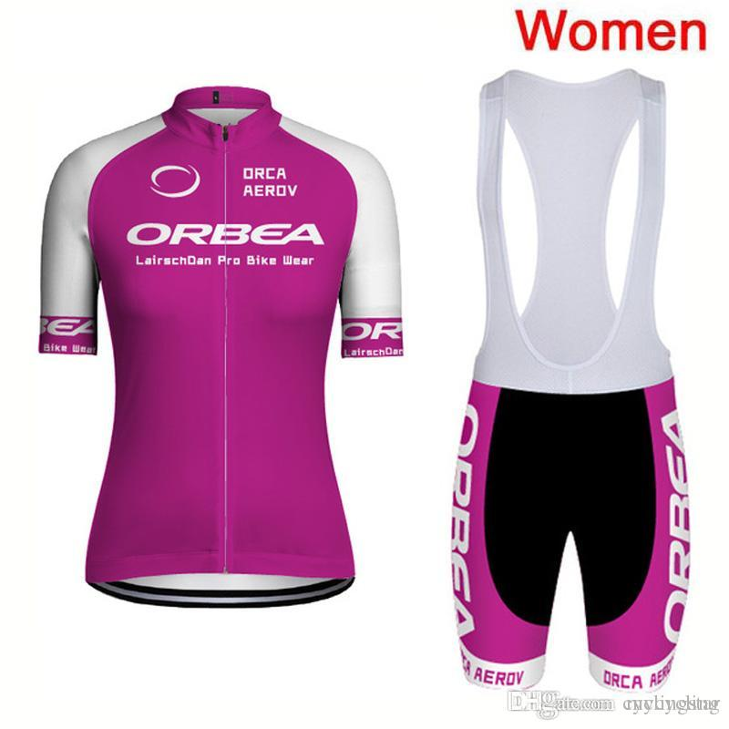 2018 ORBEA Women Bike Team Cycling Jersey Sets Quick Dry Mtb Bicycle ... 33d0dab5b