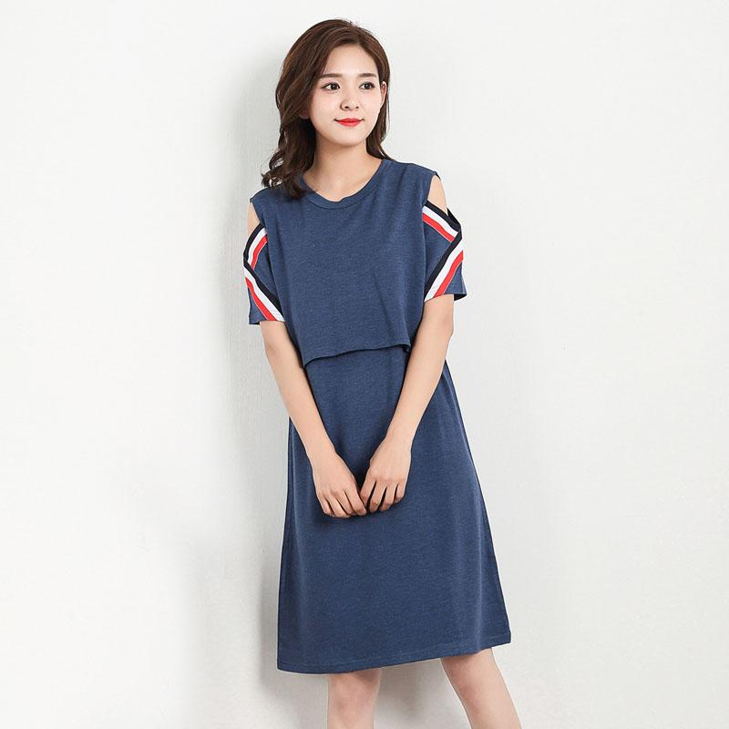 2018 Breastfeeding Nursing Dresses Maternity Clothes For Pregnant