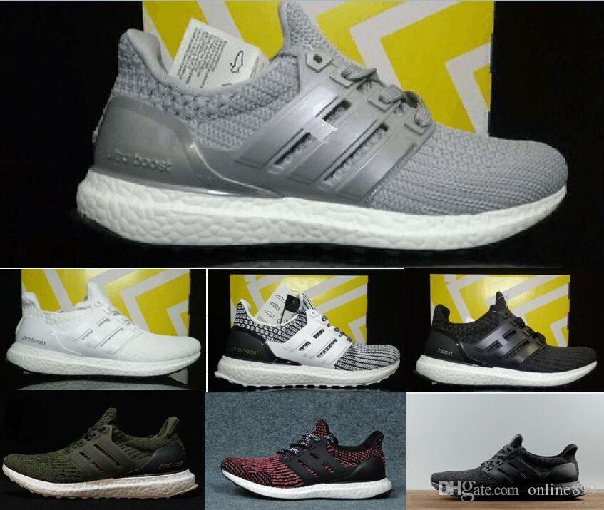 0e6159cbe 2018 New Ultraboost 3.0 4.0 Running Shoes High Quality Men Women ...