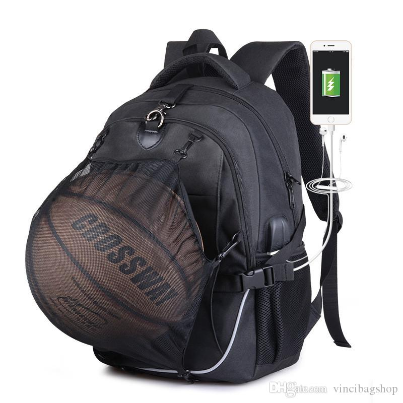 High Quality Outdoor Basketball Backpack Sport Oxford School Bag ... c0f1120033b6e