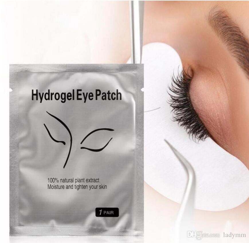 Factory Price! Thin Hydrogel Eye Patch for Eyelash Extension Under Eye Patches Lint Free Gel Pads Moisture Eye Mask Wholesale