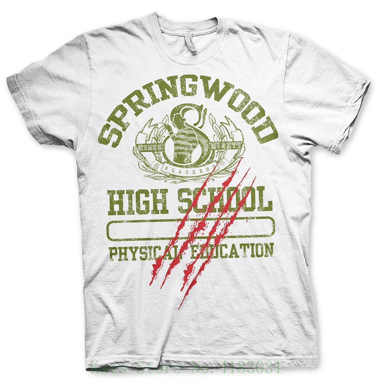 Officially Licensed Merchandise Springwood High School T Shirt White