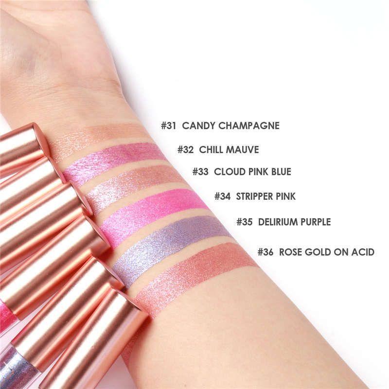 FOCALLURE Liquid Lipstick Chameleon Shimmer Lip Gloss Waterproof Matte Long Lasting Lipstick Style Lip Gloss
