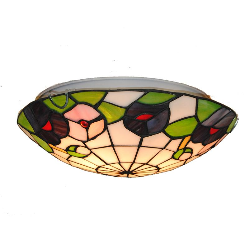 2018 american tiffany style stained glass 1216 inch ceiling 2018 american tiffany style stained glass 1216 inch ceiling lighting fixture bedroom balcony porch aisle lamp flush mount light c289 from cornelius aloadofball Choice Image