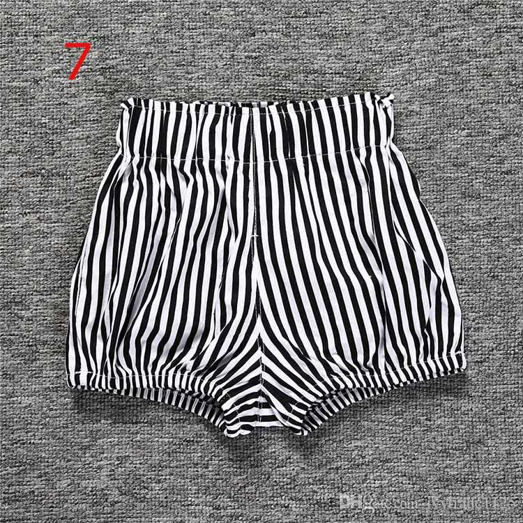 12 стили Ins новые детские шорты ковылять мальчики девочки ins короткое лето детские дети свободные новорожденных comfortale пеленки бутик трусы одежда