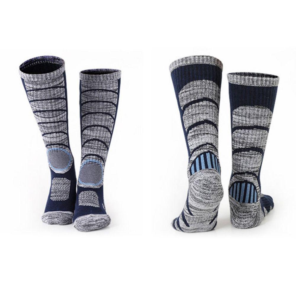 Unisex Socks Thicken Knee High Skiing Leg Warmer Elastic Quick Dry Anti-slip Sports Winter Sports & Entertainment