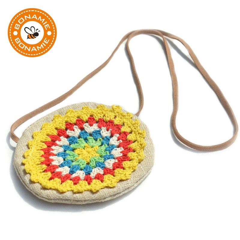 Compre Bonamie National Handmade Weave Girls Mini Bolsas Crossbody ...