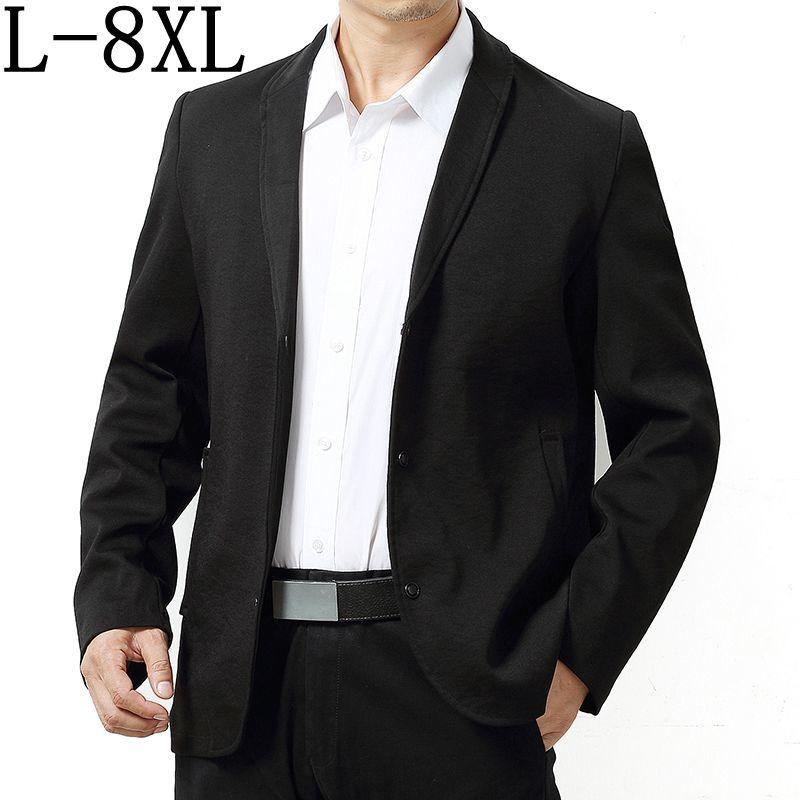 1825b5b6558 2019 Size 6XL 7XL 8XL 2018 New Arrival Business Mens Blazer Casual Blazers  Men Formal Jacket Popular Design Men Dress Suit Jackets From Elizabethy