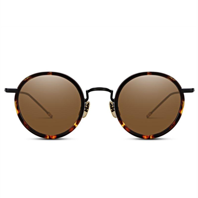 1a21dd9fd8c0 Vintage Fashion Round Sunglasses Thom Browne TBX906 Women Man Brand Design  Round Original Box Case HD Lens Top Quality Cheap Sunglasses Mens Sunglasses  From ...