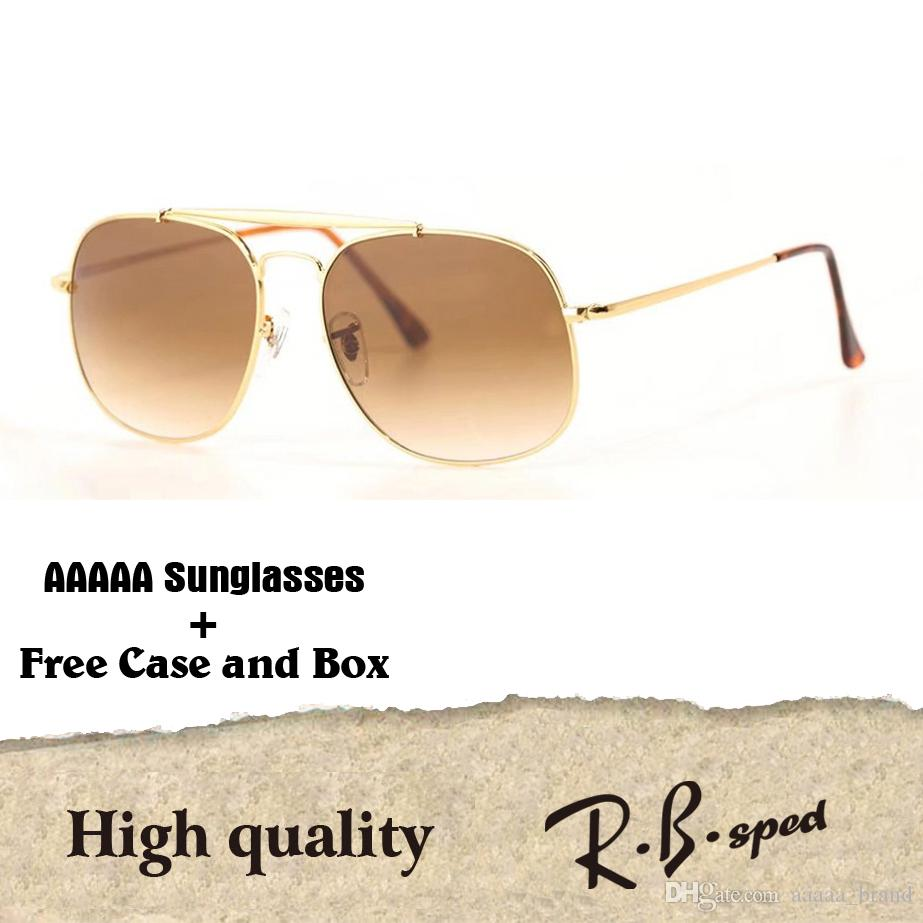 5d8ee3670d Brand Designer Steampunk Sunglasses For Men Women Metal Frame Uv400  Gradient Glass Lens With Free Case And Box Police Sunglasses Serengeti  Sunglasses From ...