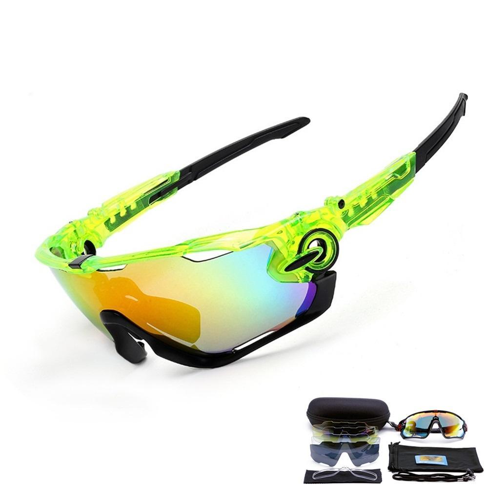 a basso prezzo b01d7 3ada7 Occhiali polarizzati 3 lenti ciclismo Occhiali da ciclismo MTB occhiali da  sole ciclismo occhiali da sole Mountain bike occhiali da vista Gafas de ...