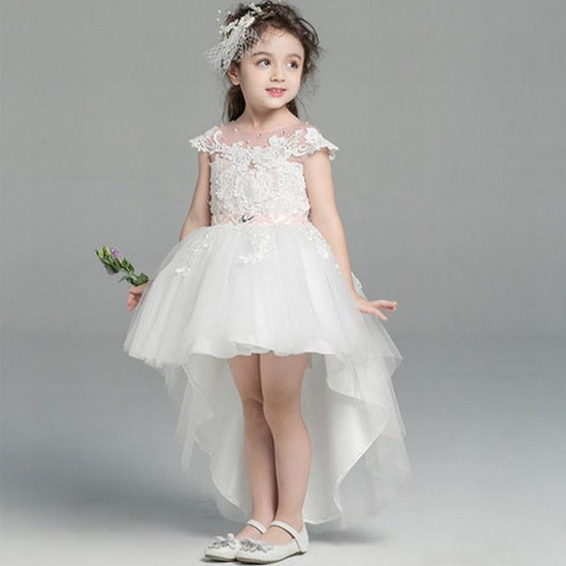 0763f9e979bce Acheter Charmante Princesse Pageant Robe De Fille De Fleur Enfants De  Soirée De Mariage D anniversaire Demoiselle D honneur Enfants Robe Gna1 De   59.3 Du ...