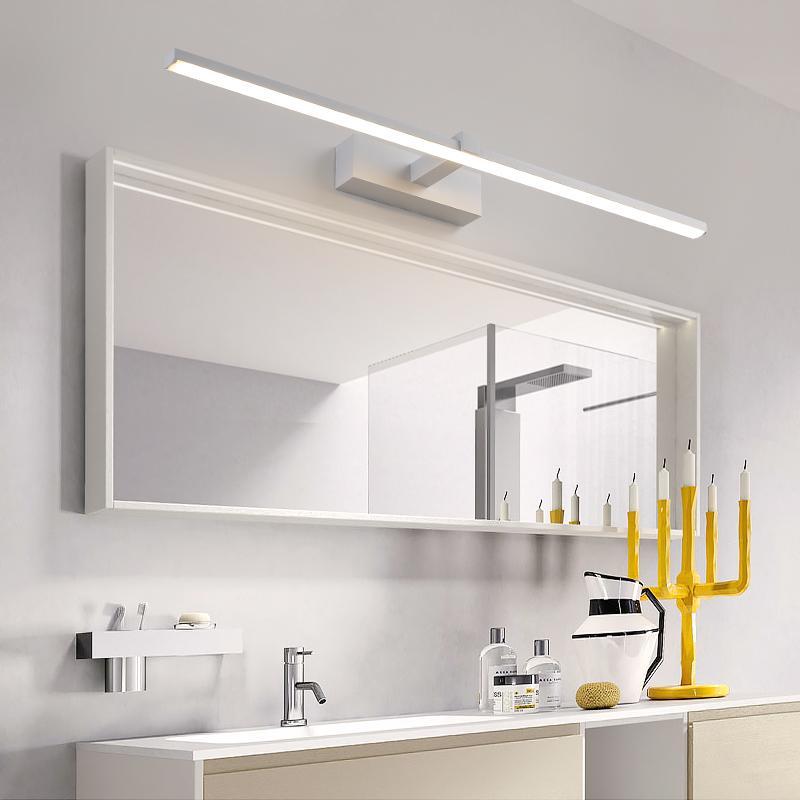 Großhandel Anti Fog 0.4 1m Badezimmer Spiegel Licht Schwarzes / Weiß ...
