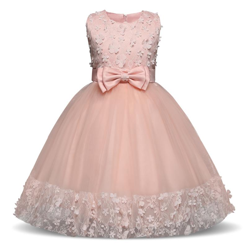 Clover Girl Floral Princess Party Dress Girls Summer Children Clothing  Wedding Birthday Party Tutu 4 10 Y Baby Children Clothes UK 2019 From  Luckyno 71e8c6d79465