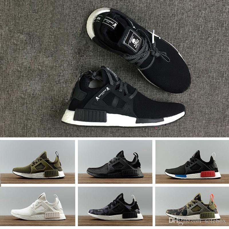 21a835c06 2019 2018 Original NMD XR1 PK Running Shoes NMD XR1 Primeknit OG PK Zebra  Blue Shadow Noise Duck White Camo Core Black Fall Olive 36 45 From Solebox