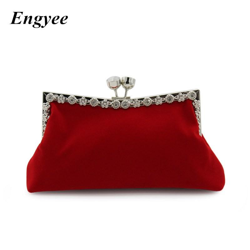 f9a5a03c2b25 ENGYEE Luxury Women Day Clutches Diamond Party Clutch Bag Wallet ...