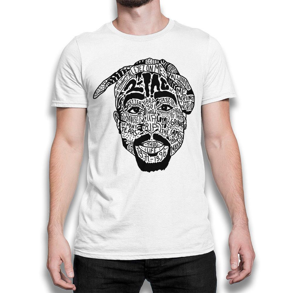 474963d58595 2Pac Lyrics Art T Shirt, Tupac Shakur Tee, Men'S Women'S All Sizes Fashion  Unique Classic Cotton Men Top Tee Fun T Shirts Online Shirts From Biyue5,  ...