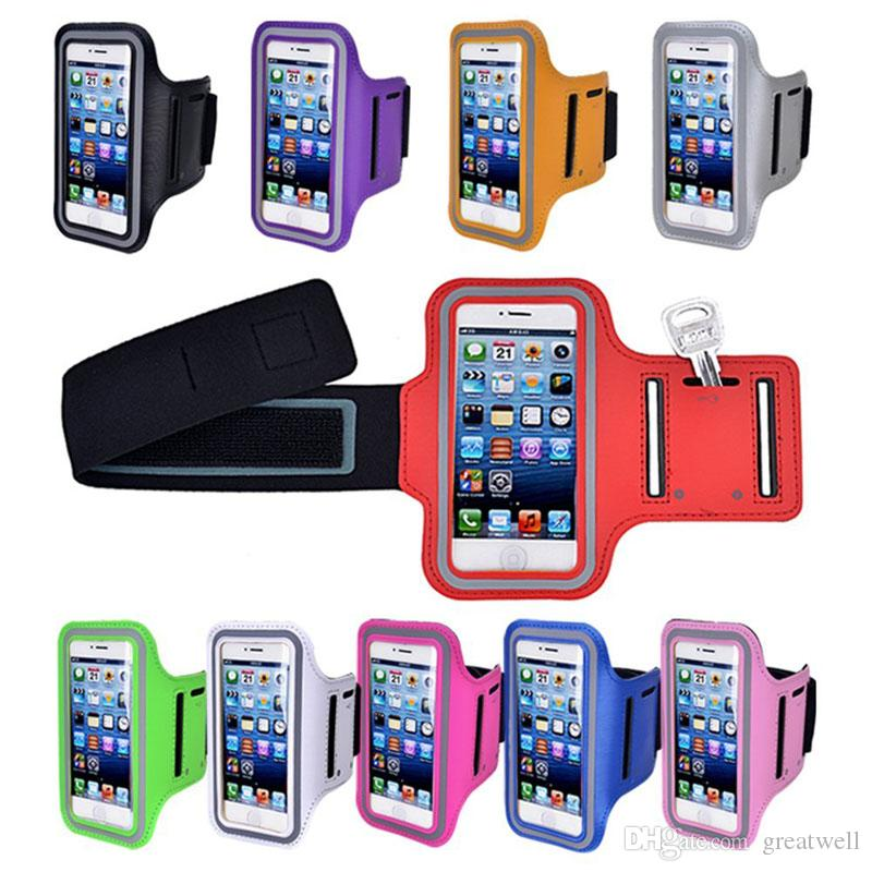 Sport Running Waterproof Armband Cover Pouch for iphone X 8 7 6 5S Samsung S3 S4 S5 S6 S7 Note 8