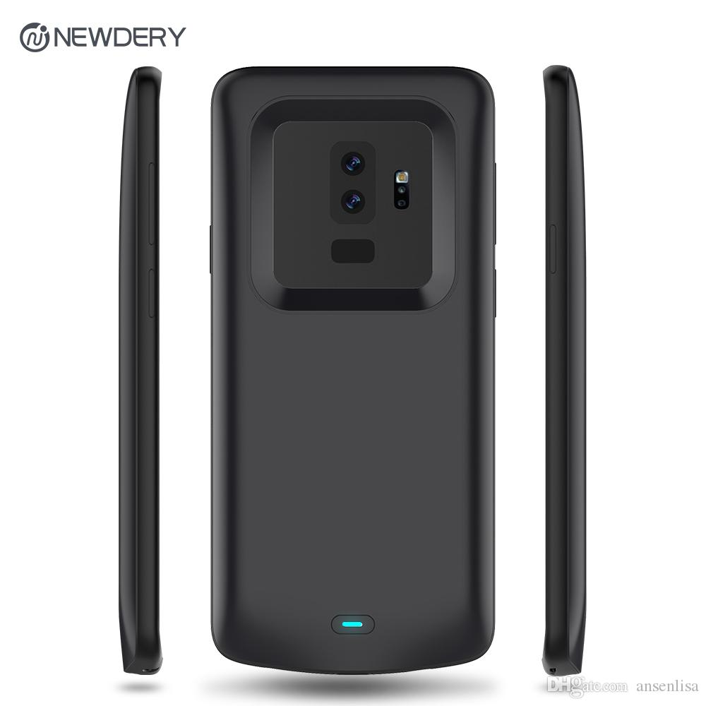 the best attitude c257a e2b46 Hot Charger case for Samsung S9 plus 5200mAh power bank case for galaxy  S9plus black battery case for Samsung S9